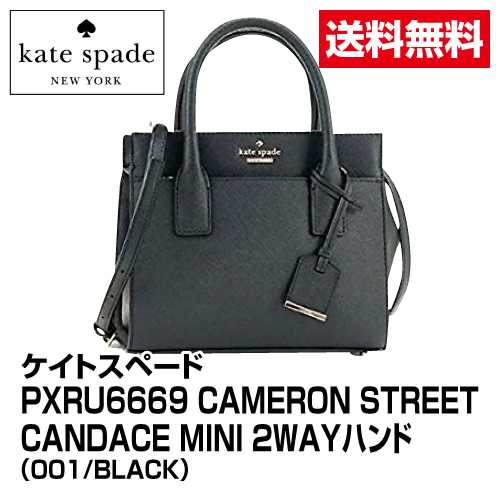 ≪ケイトスペード≫PXRU6669 CAMERON STREET CANDACE MINI 2WAYハンド_001/BLACK_PXRU666901_21